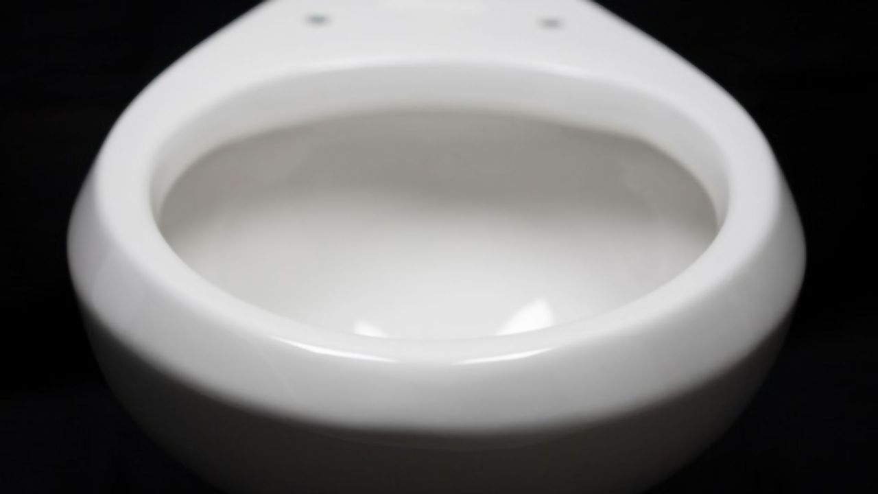 How Could a Slippery Toilet Save Water?