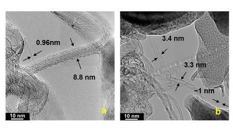 Growing Carbon Nanotubes From Old Newspapers