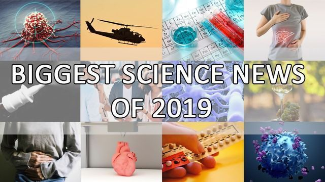 Biggest Science News of 2019