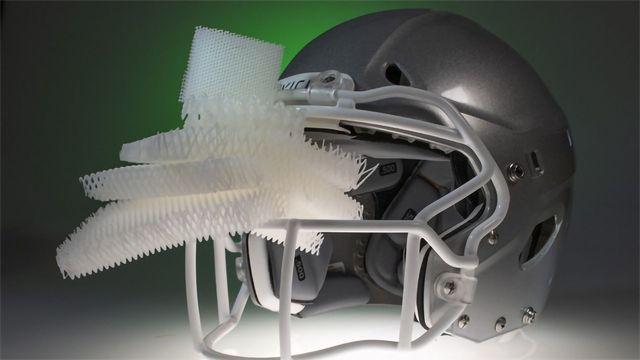 Microlattice Material Looks To Cut Football Head Injuries