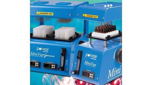 Compact Nitrogen Blowdown Evaporator
