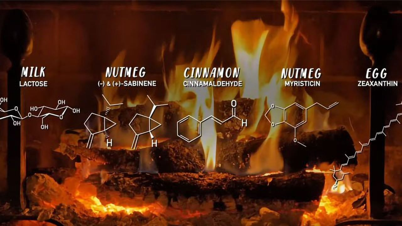Yule Log Chemistry Trivia - 4 Hours of Cozy Fireplace for Your Nerdy Holiday Parties
