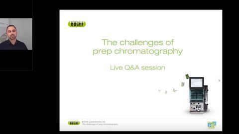 The challenges of flash and preparative chromatography - live Q&A webinar