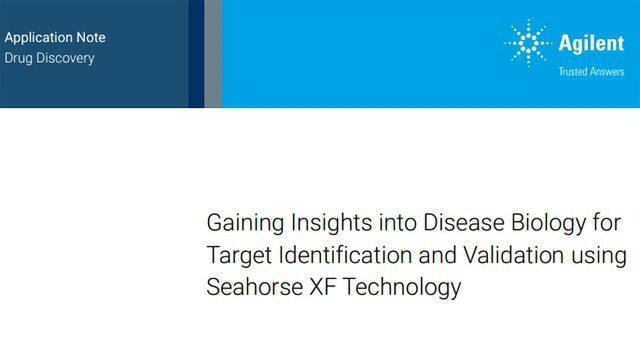 Gaining Insights Into Disease Biology for Target Identification and Validation Using Seahorse XF Technology