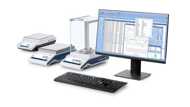 New Software Enables Easy and Efficient Weighing Data Management