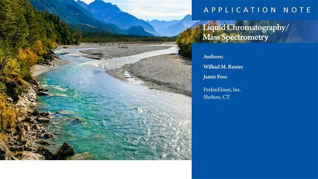 Estrogen Monitoring in River Water by LC/MS/MS with Online SPE