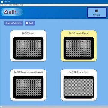 Web-based 2D-Barcoded Tube Identification