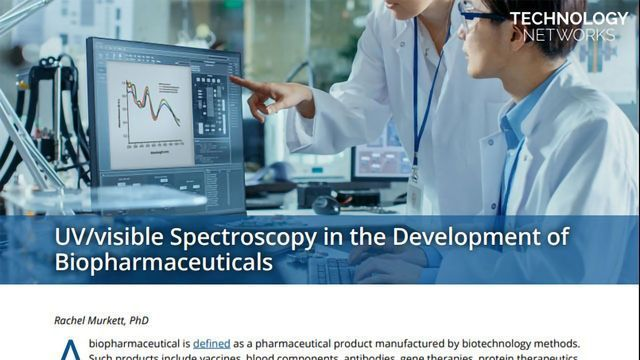 UV/visible Spectroscopy in the Development of Biopharmaceuticals