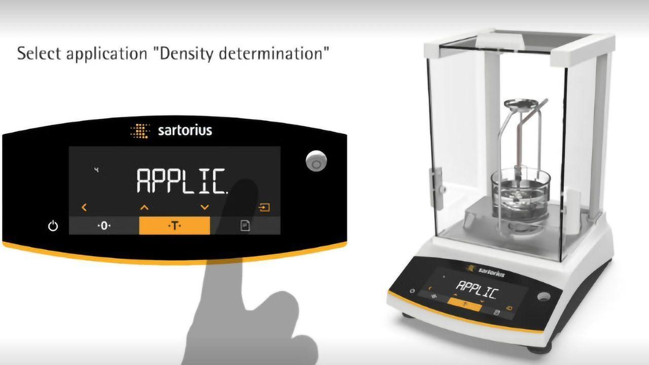Density Determination with Entris® II