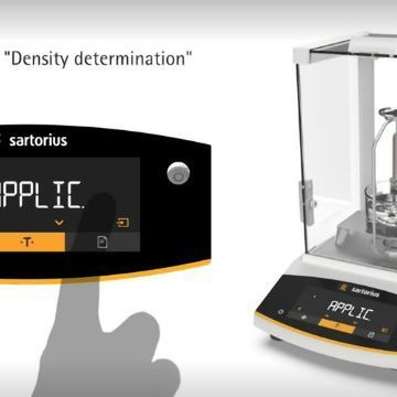 Density Determination with Entris® II