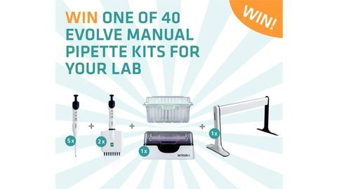 Win an EVOLVE manual pipette kit from INTEGRA