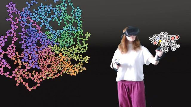 Designing New Drugs in Virtual Reality