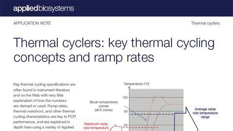 Compare Performance Across Thermal Cyclers