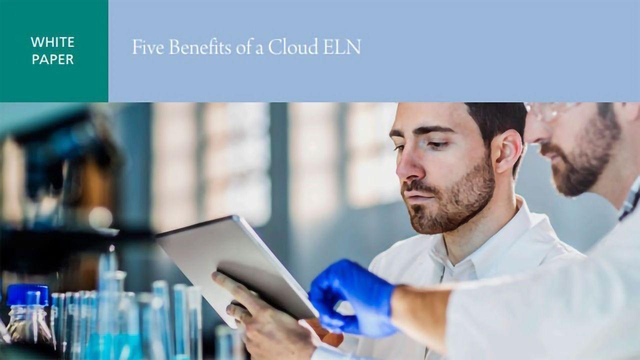Five Benefits of a Cloud ELN