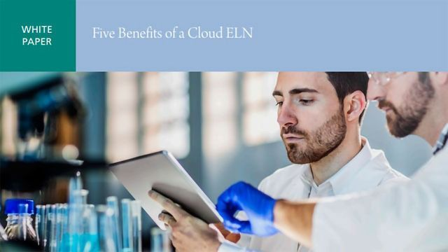Five Benefits of a Cloud ELN