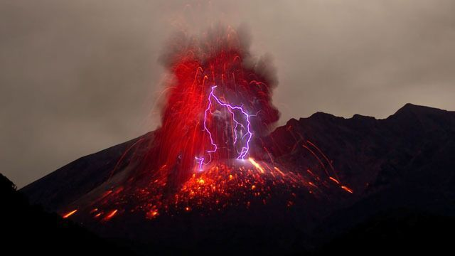 Volcanic Activity Wiped Out Half of Species