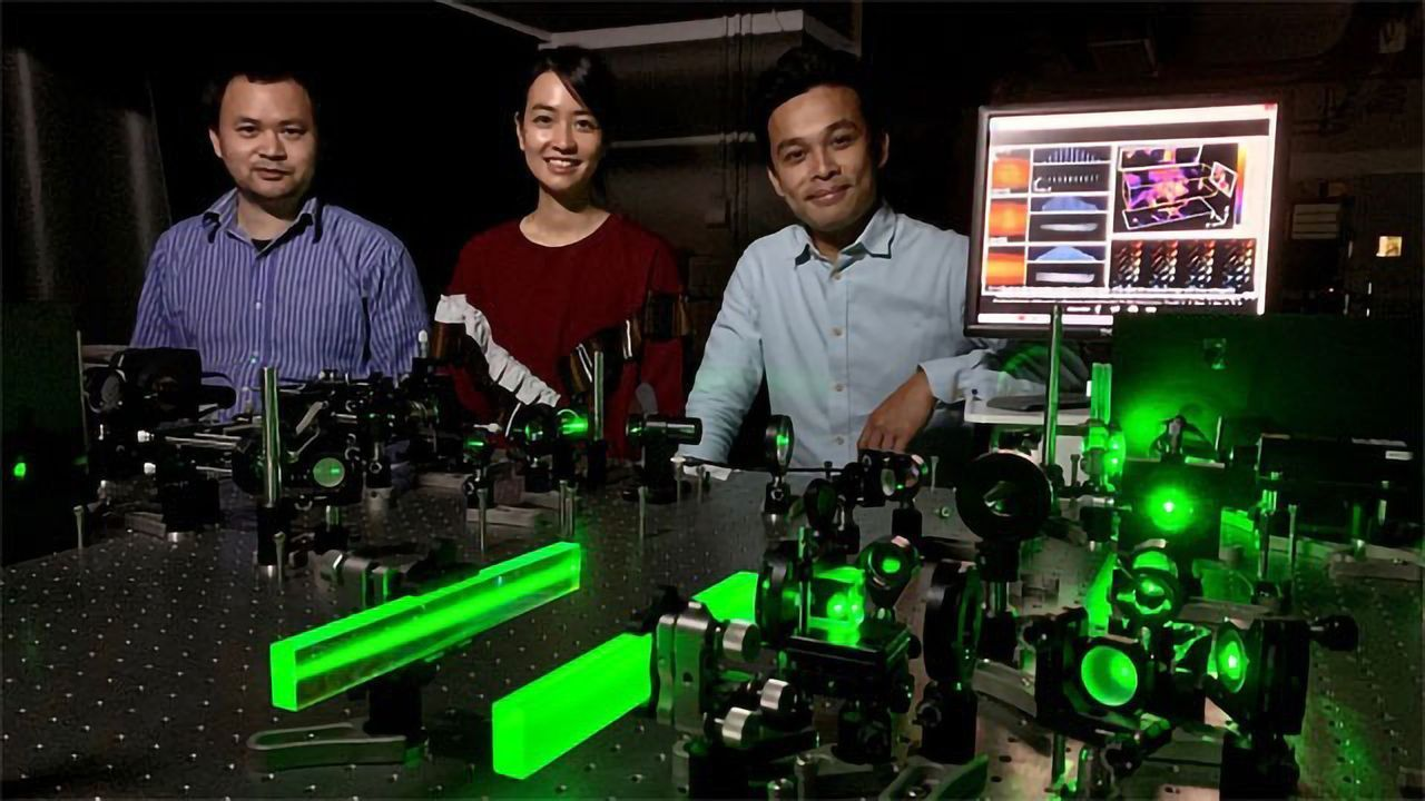 Fluorescence Microscopy Improved by Novel 3D Imaging Technology