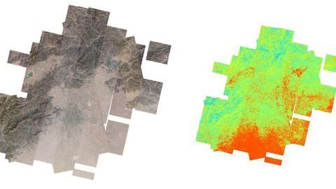 Using Satellites To Find Air Pollution Hot Spots