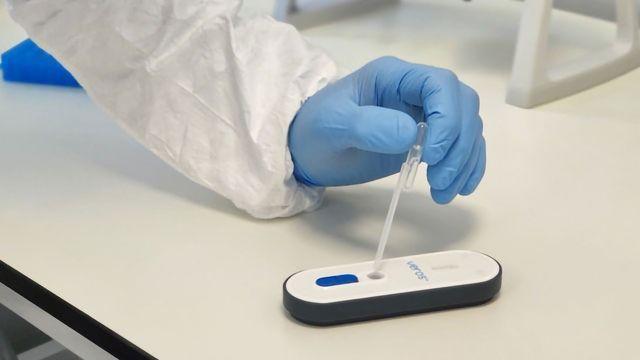 Sense Accelerates Instrument-free Molecular Diagnostic Test for COVID-19