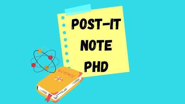 Post-it Note PhD