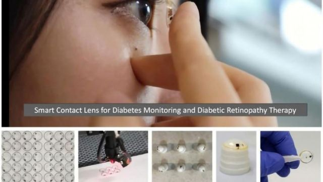 Smart Contact Lenses for Diabetes Monitoring