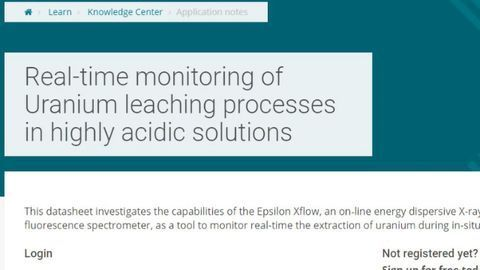 Real-time Monitoring of Uranium Leaching Processes in Highly Acidic Solutions