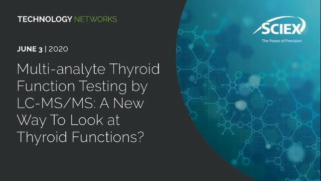 Multi-analyte Thyroid Function Testing by LC-MS/MS: A New Way To Look at Thyroid Functions?