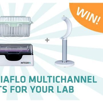 Win an INTEGRA electronic micropipette and never look back