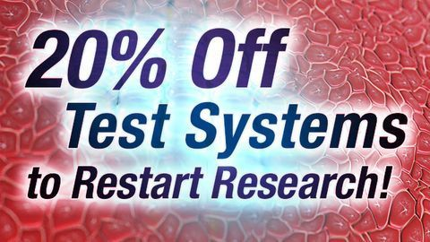 20% Off Tissue, Cells & Subcellular Fractions