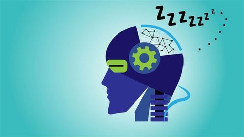 Do Androids Dream of Electric Sheep? Artificial Brains Need Sleep Too