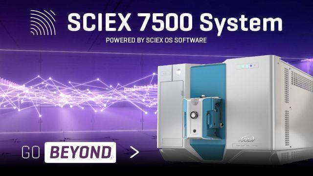 SCIEX Triple Quad™ 7500 LC-MS/MS System – QTRAP® Ready