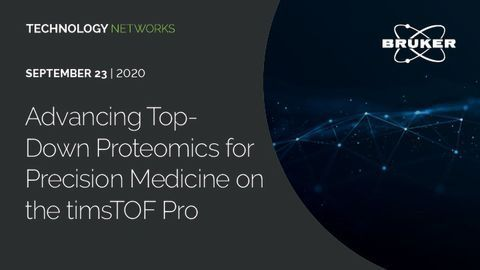 Advancing Top-Down Proteomics for Precision Medicine on the timsTOF Pro