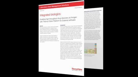 Integrated Biologics LIMS Designed To Accelerate Drug Discovery Efforts
