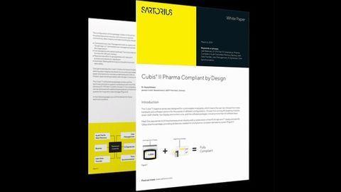 Cubis® II - Pharma Compliant by Design
