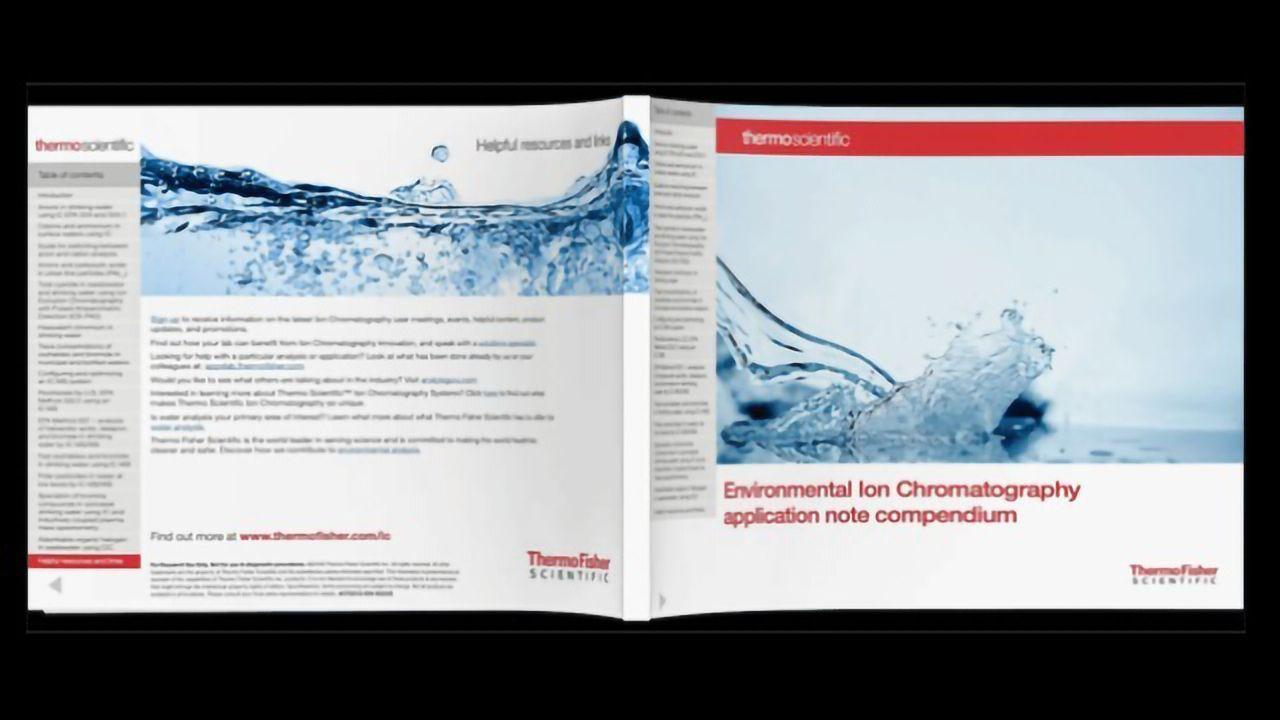 Enviromental Ion Chromatography Analysis