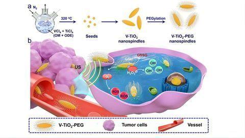 Using Nanospindles To Sensitize Cancerous Tumors to Ultrasound Waves