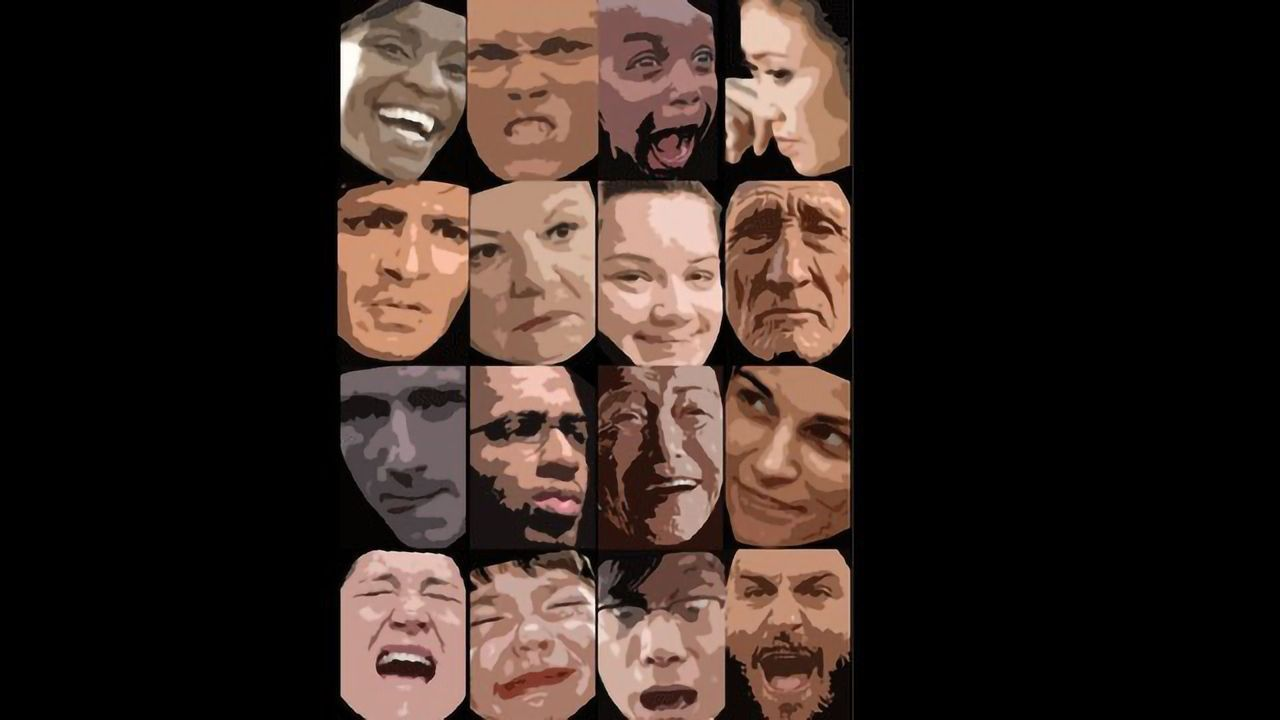 The 16 Facial Expressions Most Commonly Shared Around the World