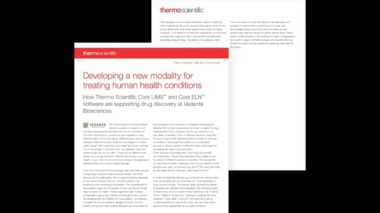 Developing a New Modality Using Targeted Therapeutic Discovery