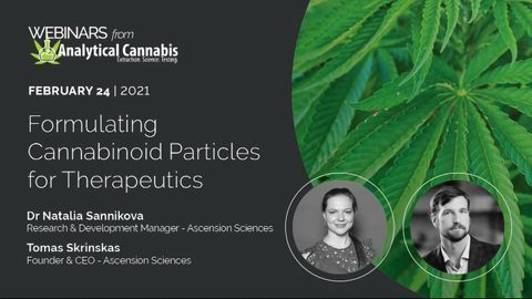 Formulating Cannabinoid Particles for Therapeutics