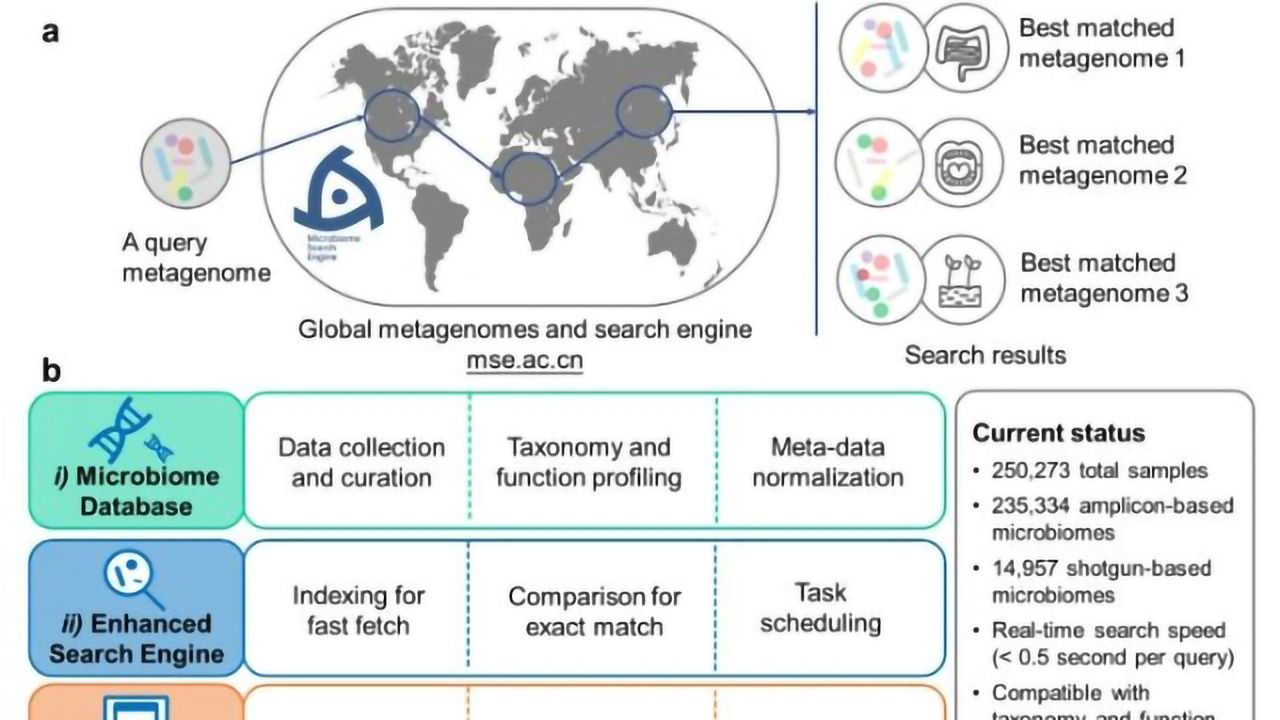 Microbiome Search Engine 2 Aids Microbiome Exploration
