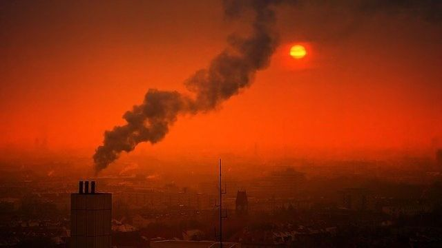 Atmospheric Pollutant Creation Observed in Real Time