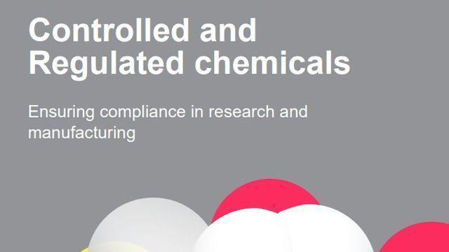 Controlled and Regulated Chemicals: Ensuring Compliance in Research and Manufacturing