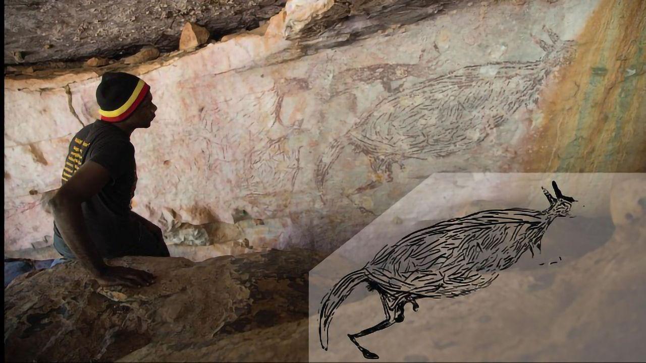 Kangaroo Rock Painting Identified As Australia's Oldest