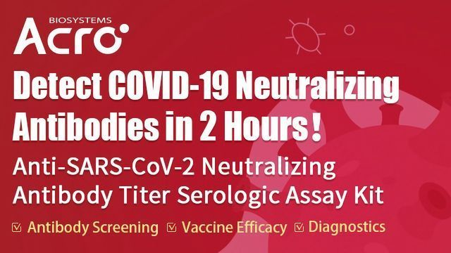 Neutralizing Antibody Titer Assay Kit: Detect COVID-19 Neutralizing Antibodies in 2 Hours!
