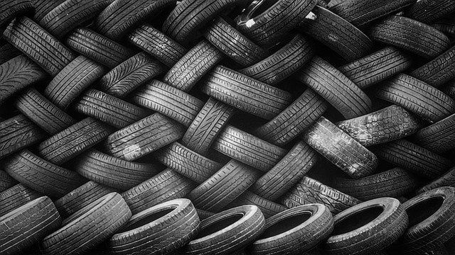 Waste Tires Recycled Into Stronger Concrete