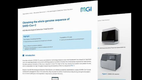 Obtaining the Whole Genome Sequence of SARS-CoV-2