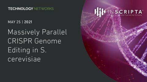 Massively Parallel CRISPR Genome Editing in S. cerevisiae