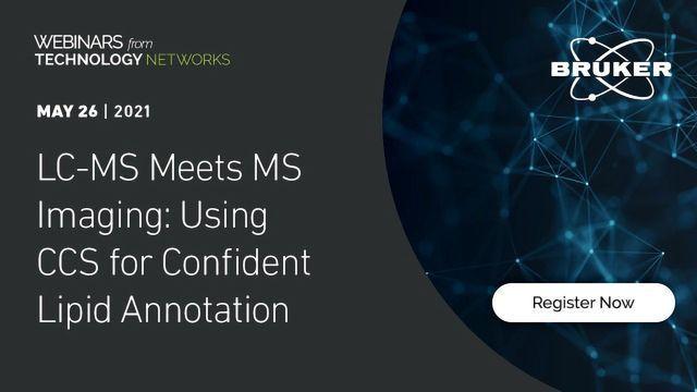 LC-MS符合MS Imaging:使用CCS进行自信的脂质注释