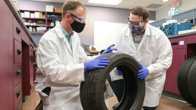 Unlocking the Unique Chemical Signatures of Tires Could Aid Forensic Investigations