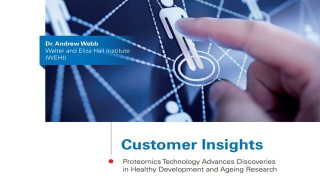 Insight - Research Advancements with Proteomics Technology